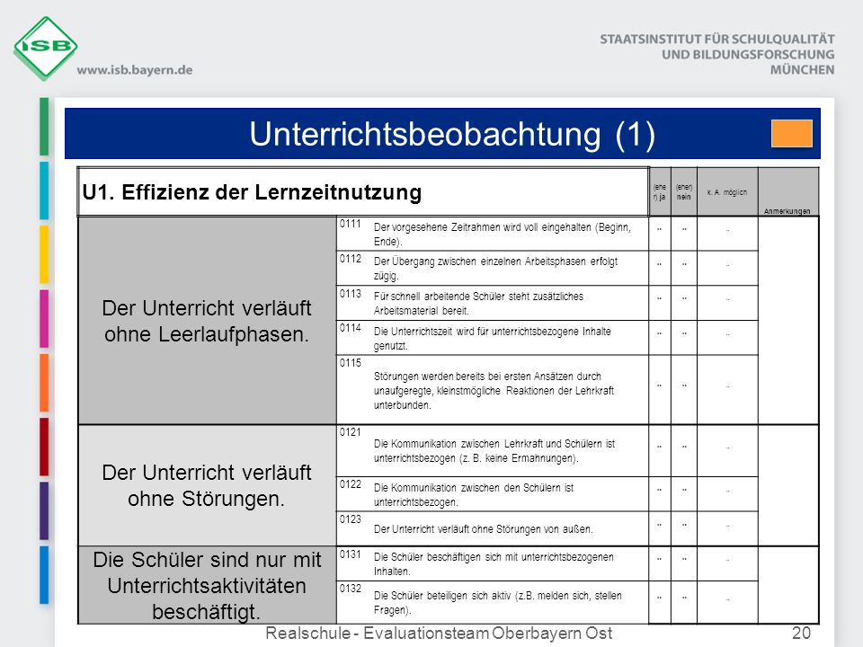 Unterrichtsbeobachtung (1)