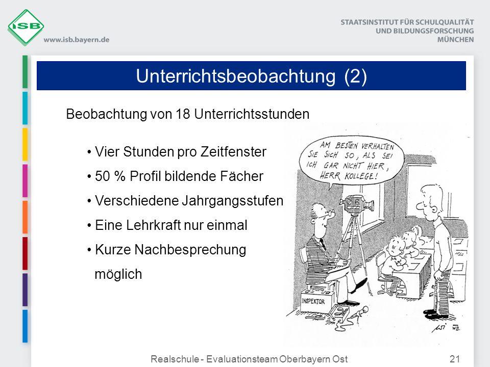 Unterrichtsbeobachtung (2)