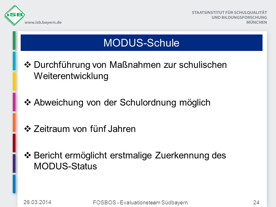 FOSBOS - Evaluationsteam Südbayern