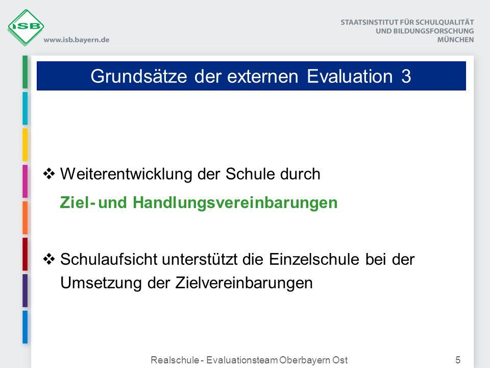 Grundsätze der externen Evaluation 3