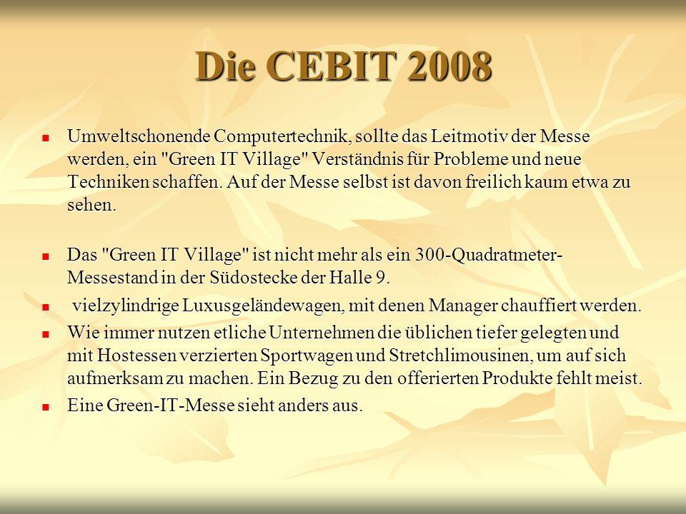 Die CEBIT 2008