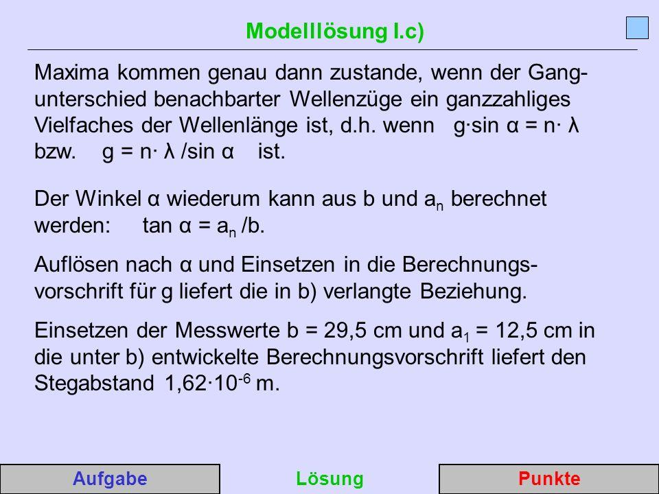 Modelllösung I.c)