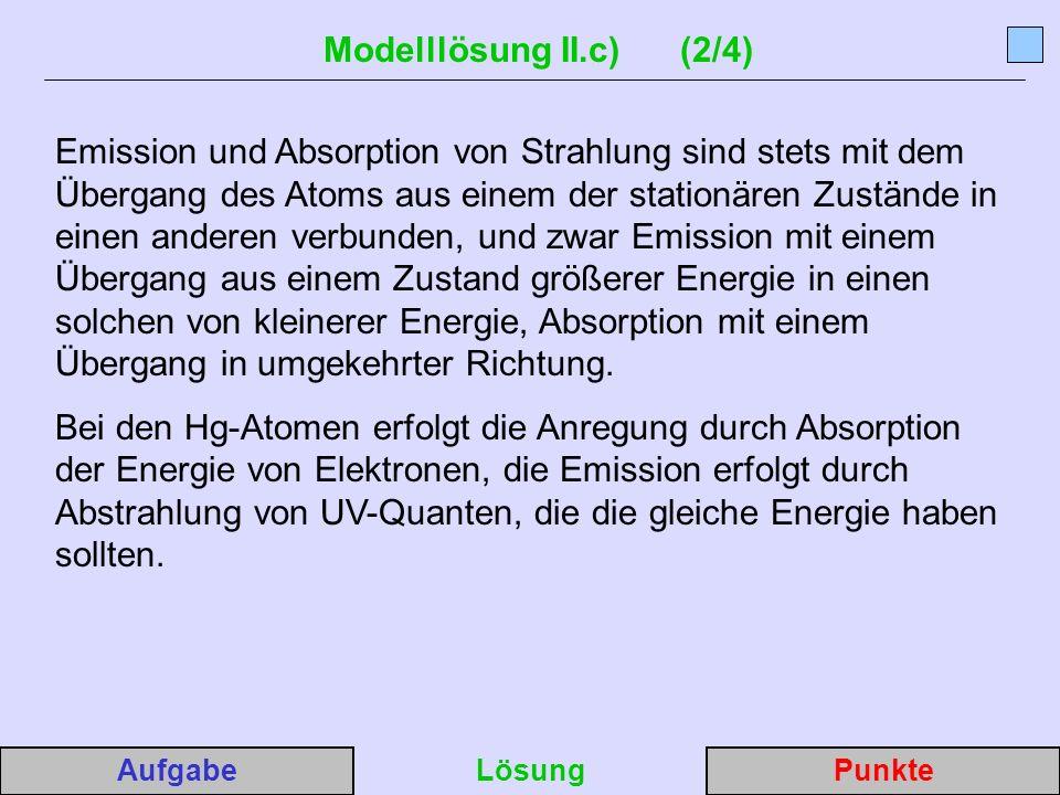 Modelllösung II.c) (2/4)