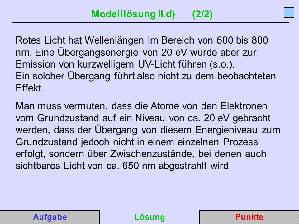 Modelllösung II.d) (2/2)