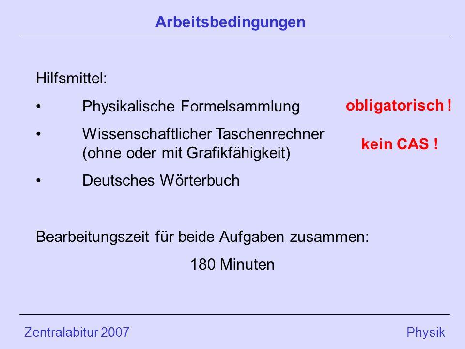 Physikalische Formelsammlung