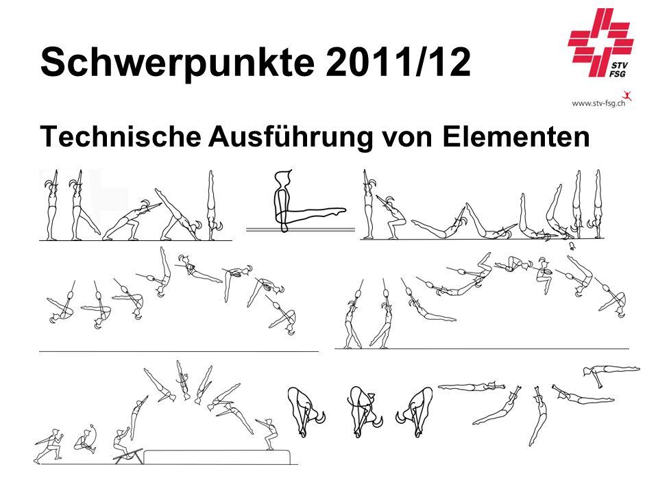 Schwerpunkte 2011/12 Technische Ausführung von Elementen