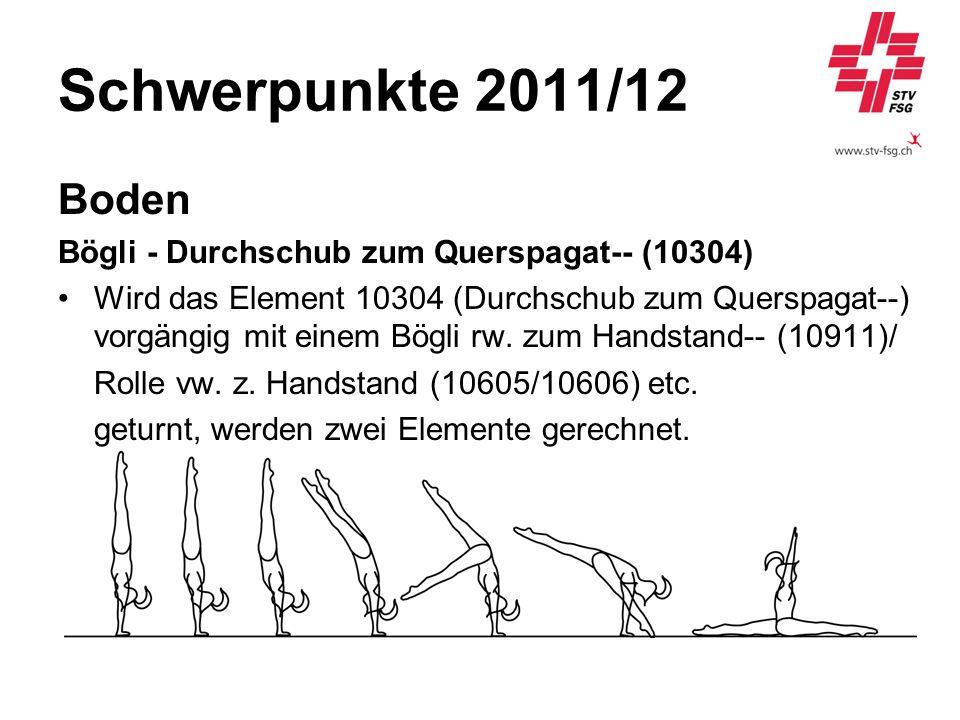 Schwerpunkte 2011/12 Boden Bögli - Durchschub zum Querspagat-- (10304)
