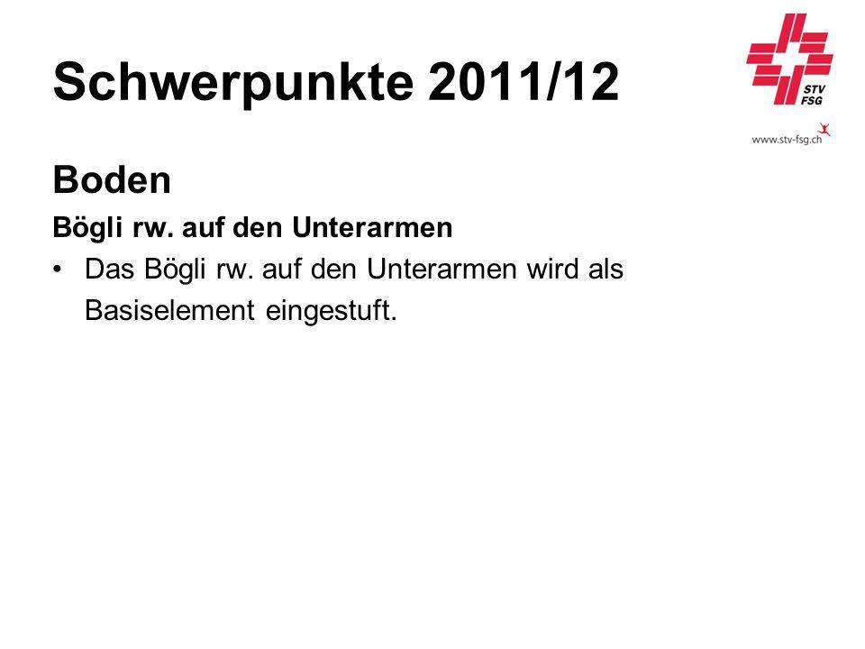 Schwerpunkte 2011/12 Boden Bögli rw. auf den Unterarmen