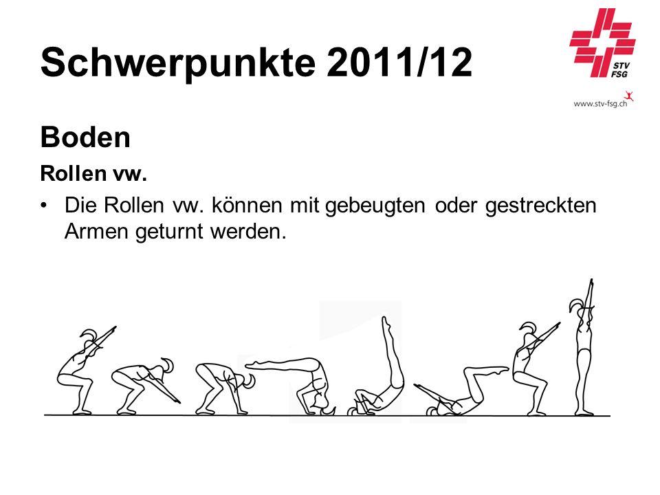 Schwerpunkte 2011/12 Boden Rollen vw.