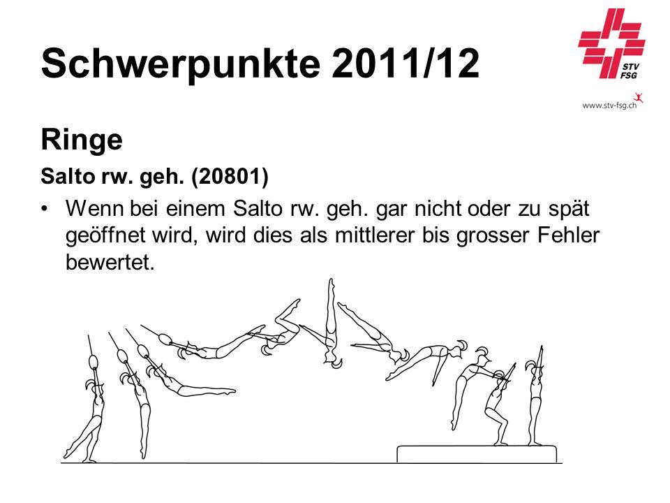 Schwerpunkte 2011/12 Ringe Salto rw. geh. (20801)