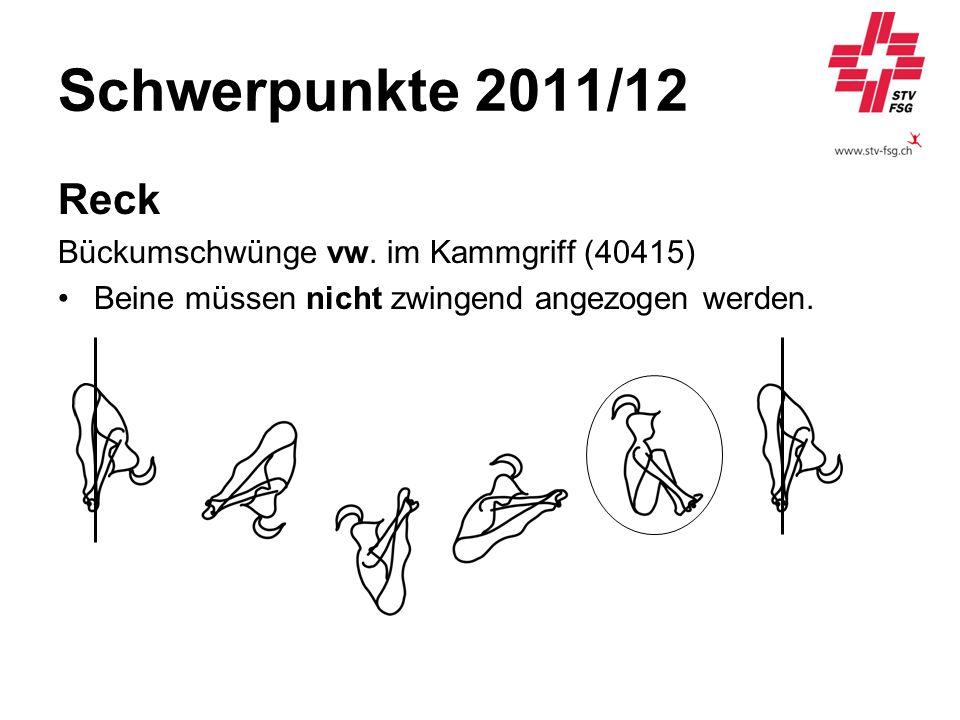 Schwerpunkte 2011/12 Reck Bückumschwünge vw. im Kammgriff (40415)
