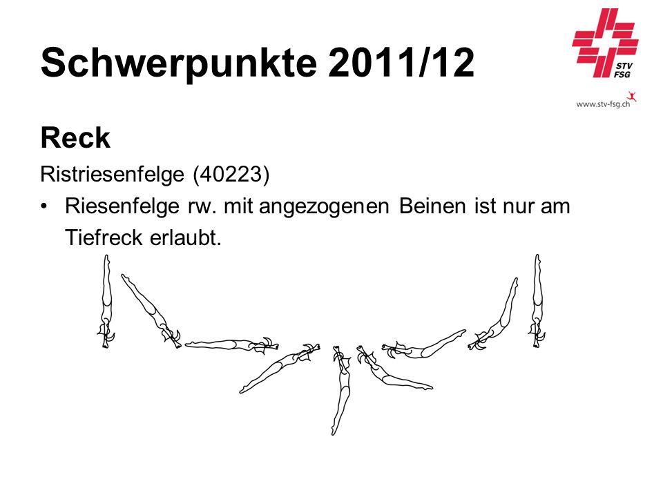 Schwerpunkte 2011/12 Reck Ristriesenfelge (40223)