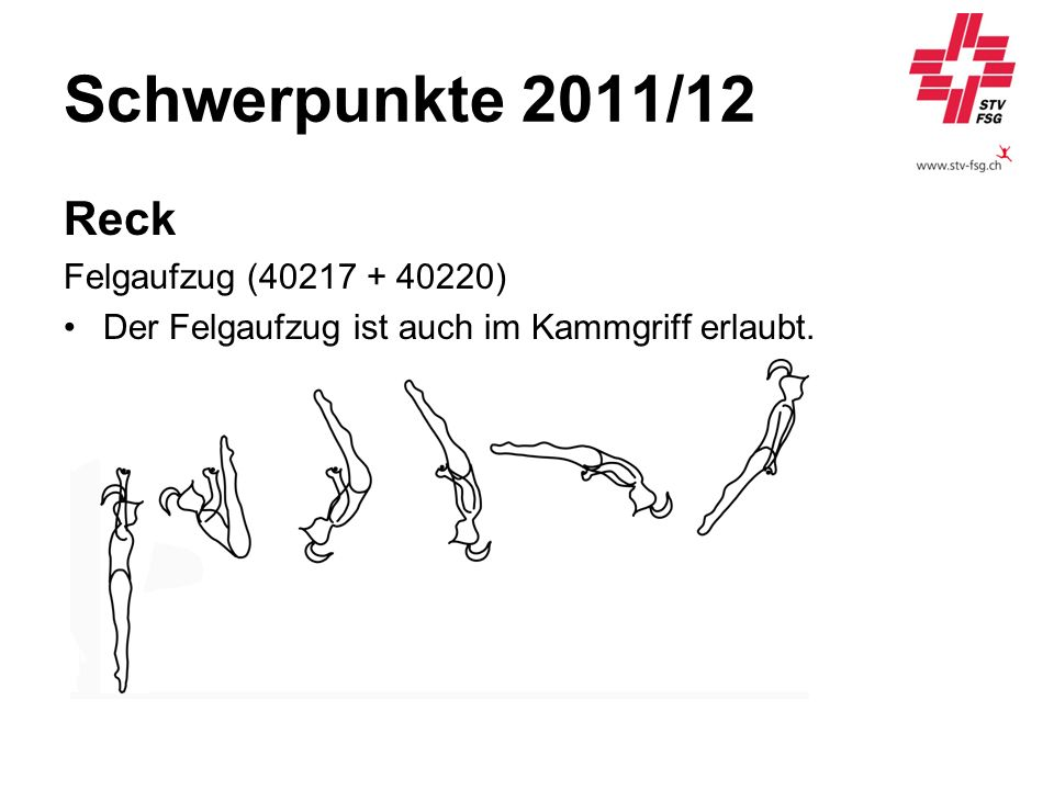 Schwerpunkte 2011/12 Reck Felgaufzug (40217 + 40220)