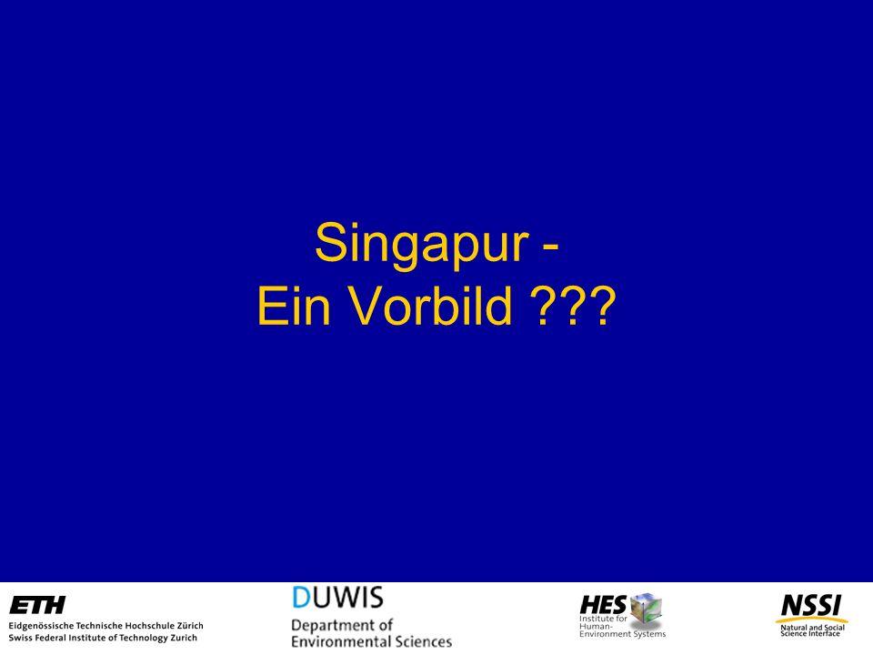 Singapur - Ein Vorbild