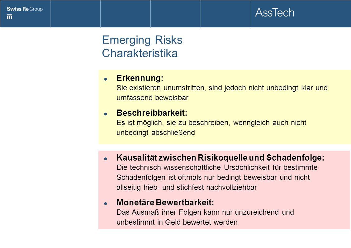 Emerging Risks Charakteristika