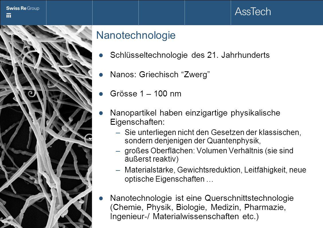 Nanotechnologie Schlüsseltechnologie des 21. Jahrhunderts