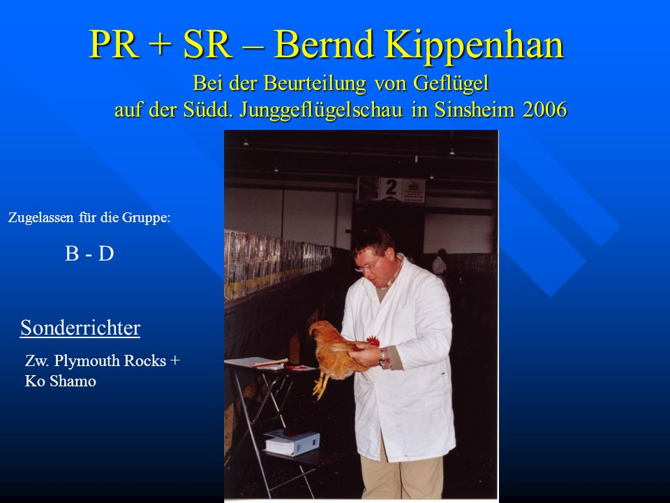 PR + SR – Bernd Kippenhan