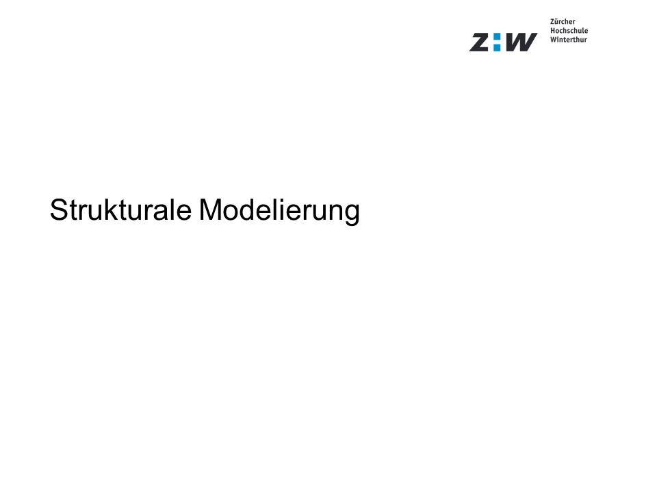 Strukturale Modelierung