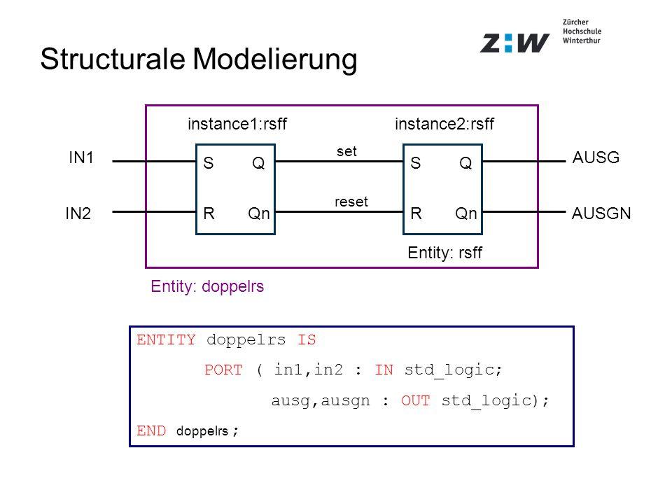 Structurale Modelierung