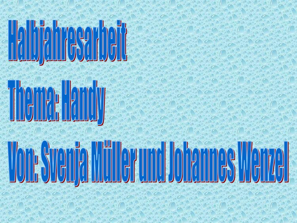 Von: Svenja Müller und Johannes Wenzel