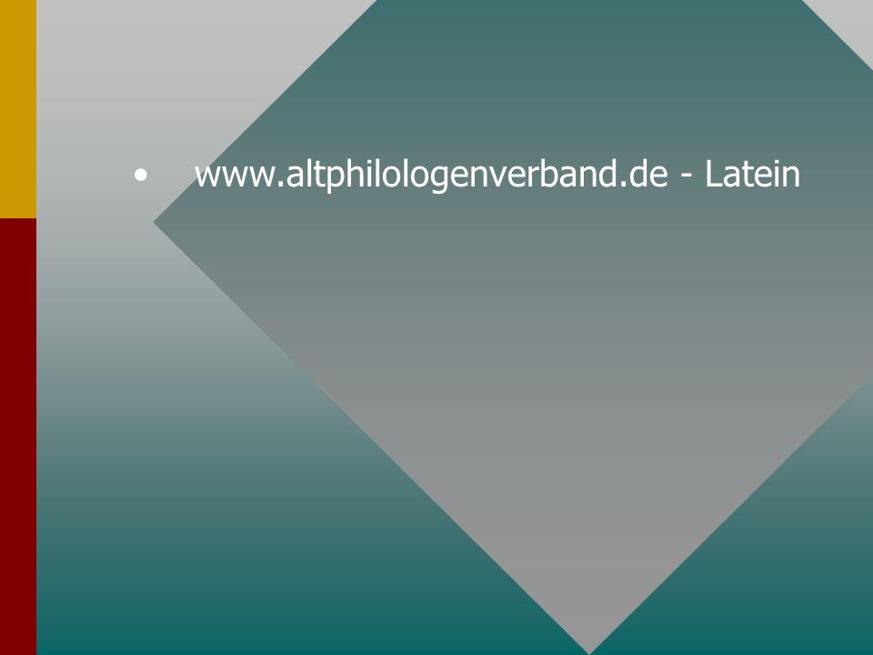 www.altphilologenverband.de - Latein