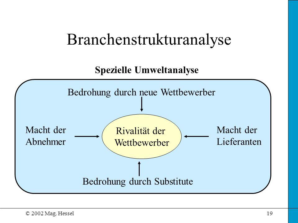 Branchenstrukturanalyse