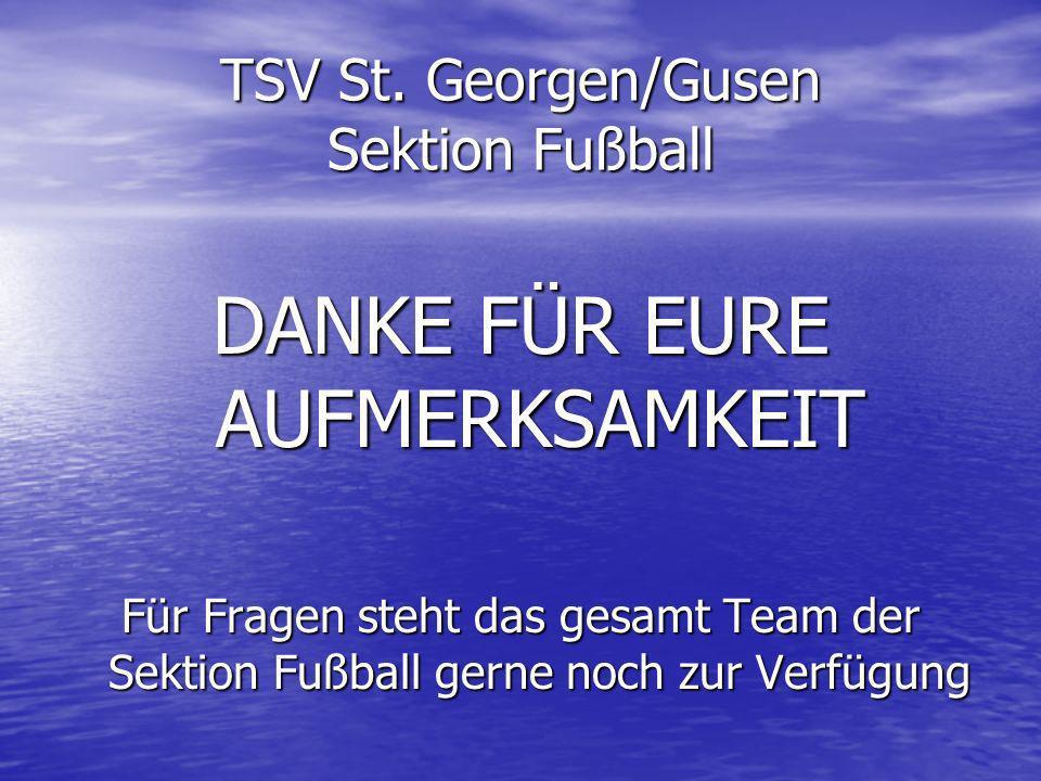 TSV St. Georgen/Gusen Sektion Fußball