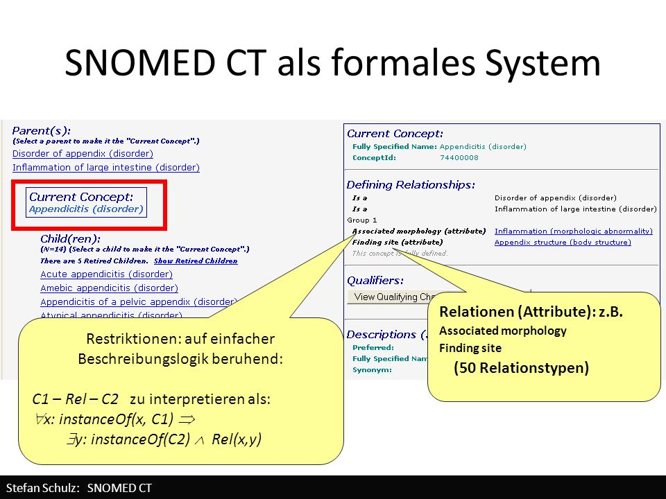SNOMED CT als formales System