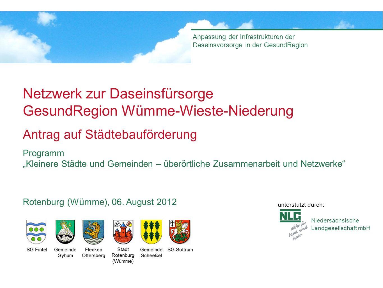 Netzwerk zur Daseinsfürsorge GesundRegion Wümme-Wieste-Niederung
