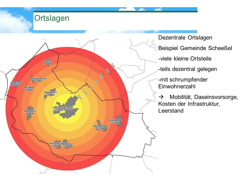 Ortslagen Dezentrale Ortslagen Beispiel Gemeinde Scheeßel