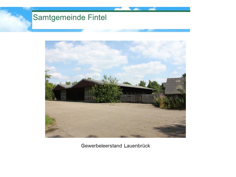 Gewerbeleerstand Lauenbrück