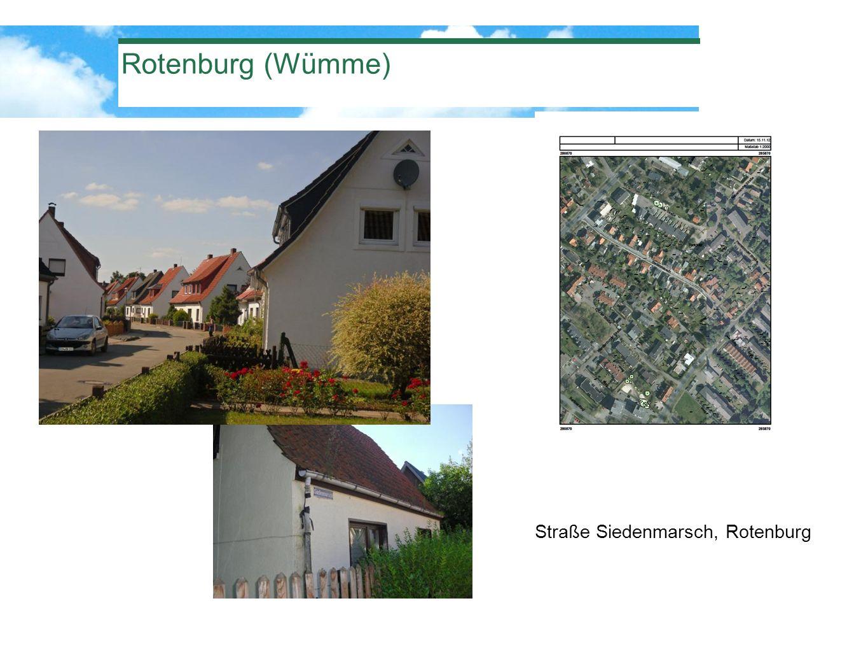 Straße Siedenmarsch, Rotenburg