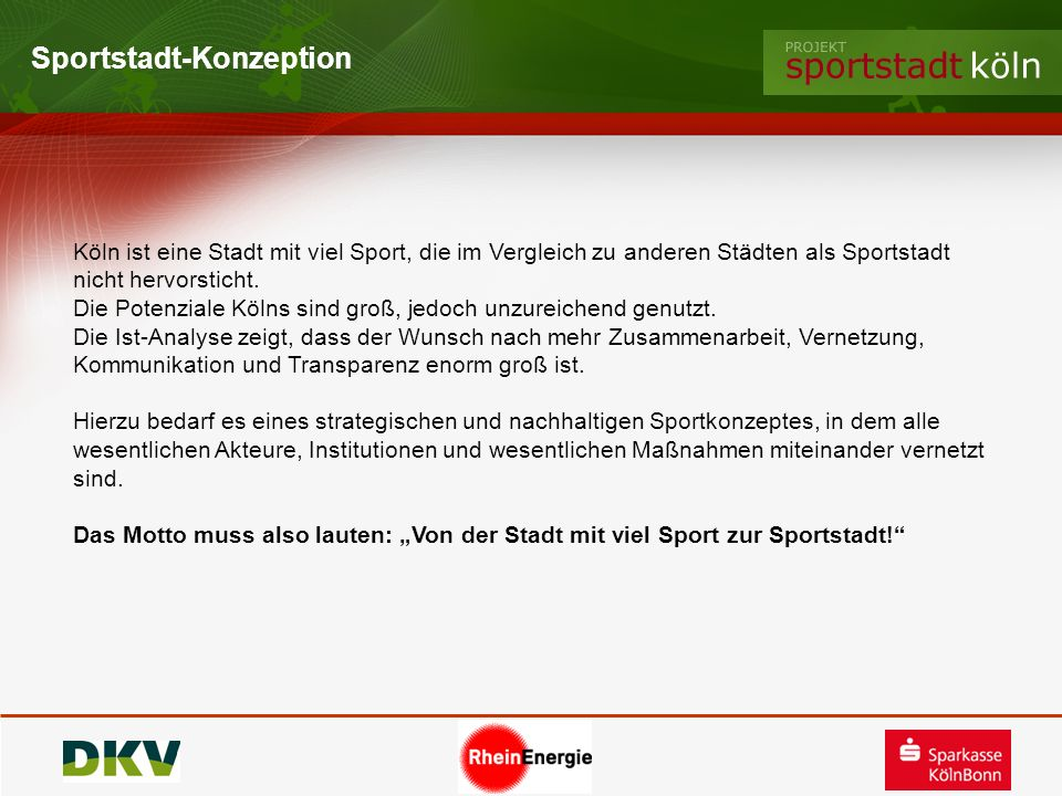 Sportstadt-Konzeption