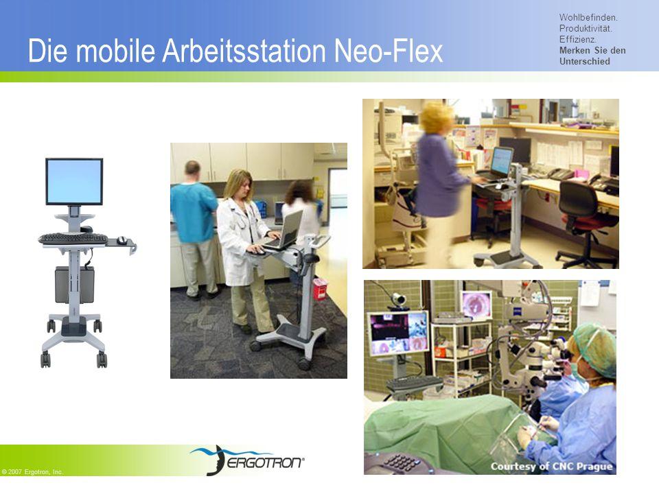 Die mobile Arbeitsstation Neo-Flex