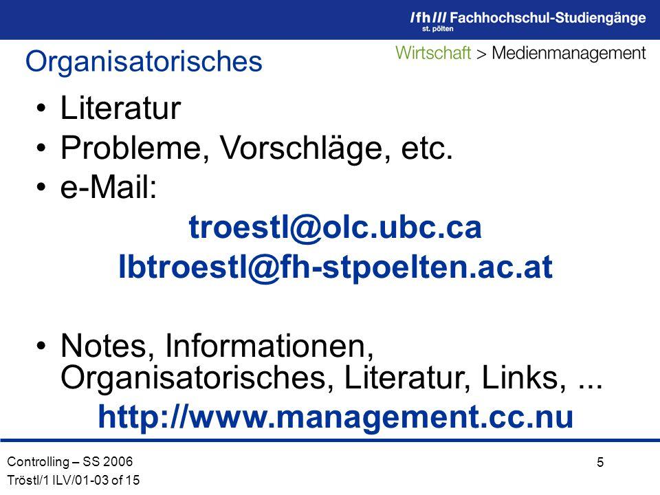 troestl@olc.ubc.ca http://www.management.cc.nu