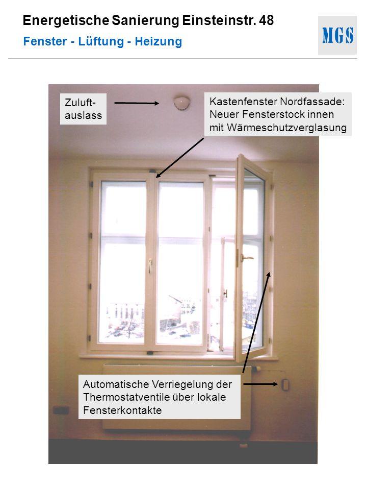 Fenster - Lüftung - Heizung