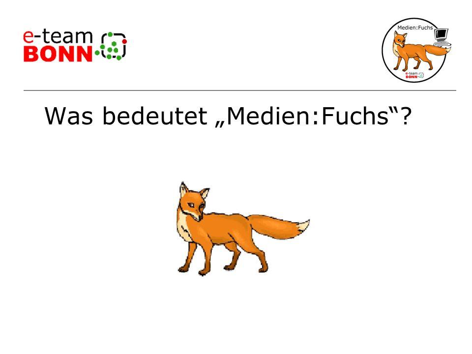 "Was bedeutet ""Medien:Fuchs"