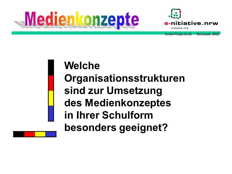 Medienkonzepte Welche Organisationsstrukturen