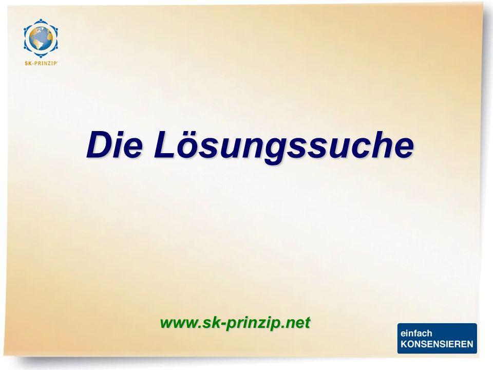 Die Lösungssuche www.sk-prinzip.net