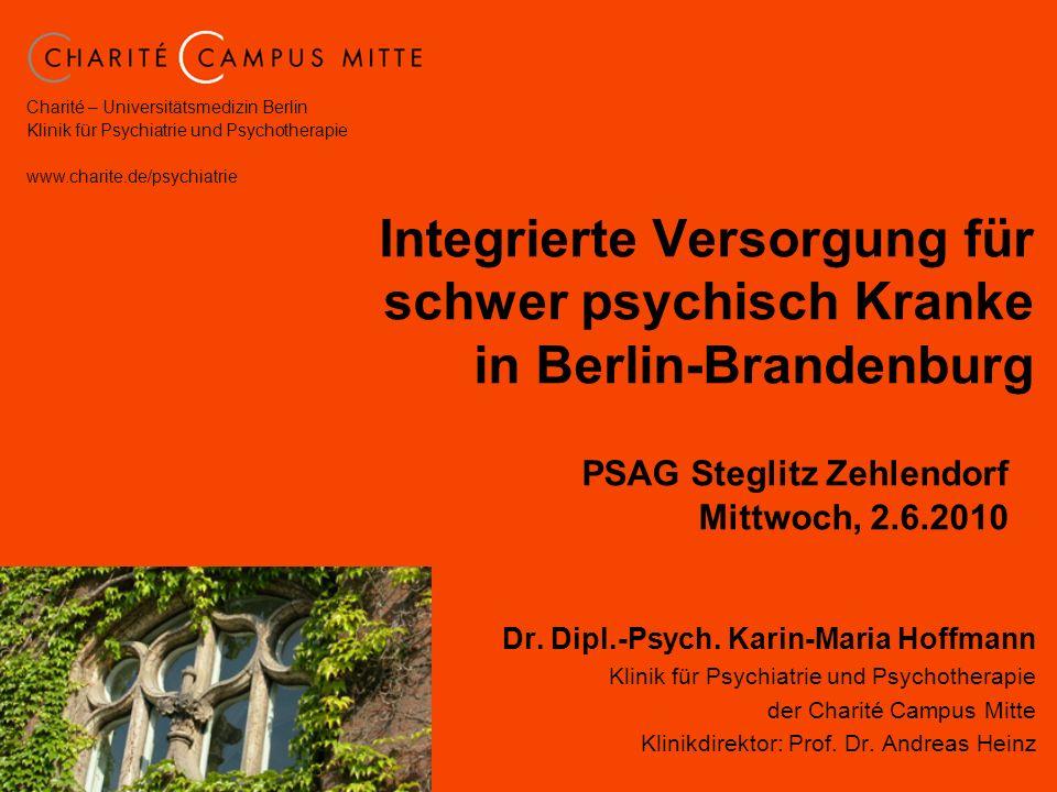 Integrierte Versorgung für schwer psychisch Kranke in Berlin-Brandenburg