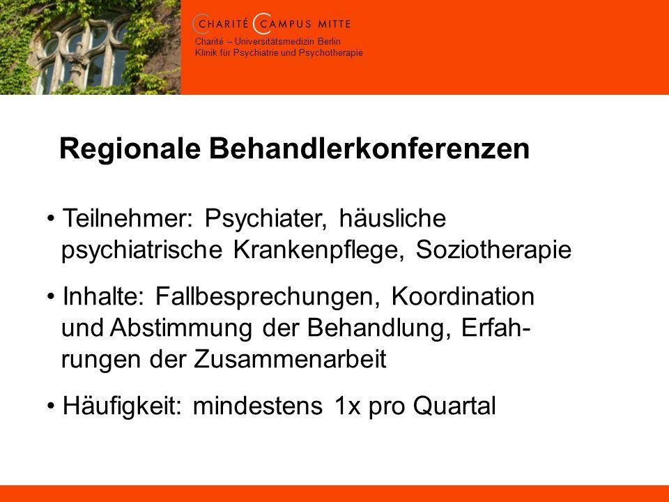 Regionale Behandlerkonferenzen
