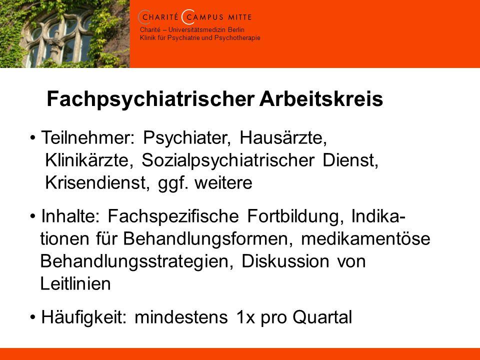 Fachpsychiatrischer Arbeitskreis