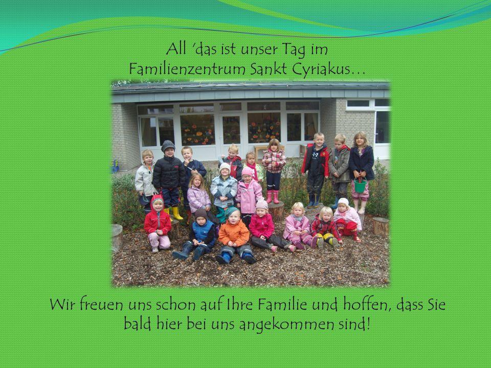Familienzentrum Sankt Cyriakus…