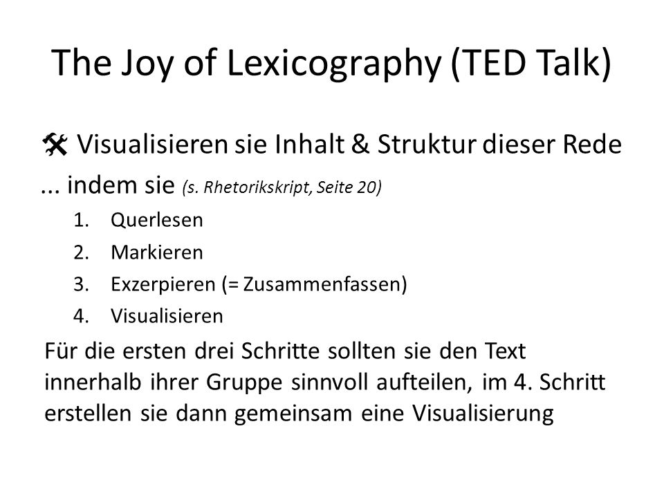 The Joy of Lexicography (TED Talk)