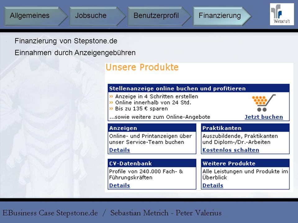 Finanzierung von Stepstone.de
