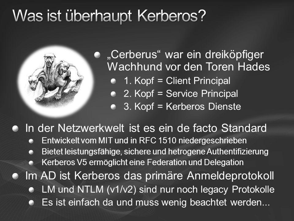 Was ist überhaupt Kerberos