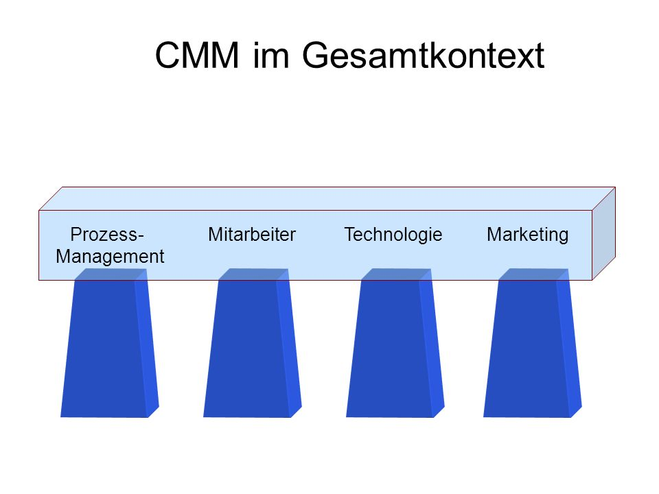CMM im Gesamtkontext Management