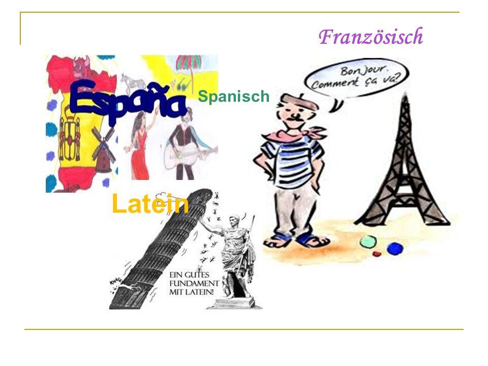Französisch Spanisch Latein