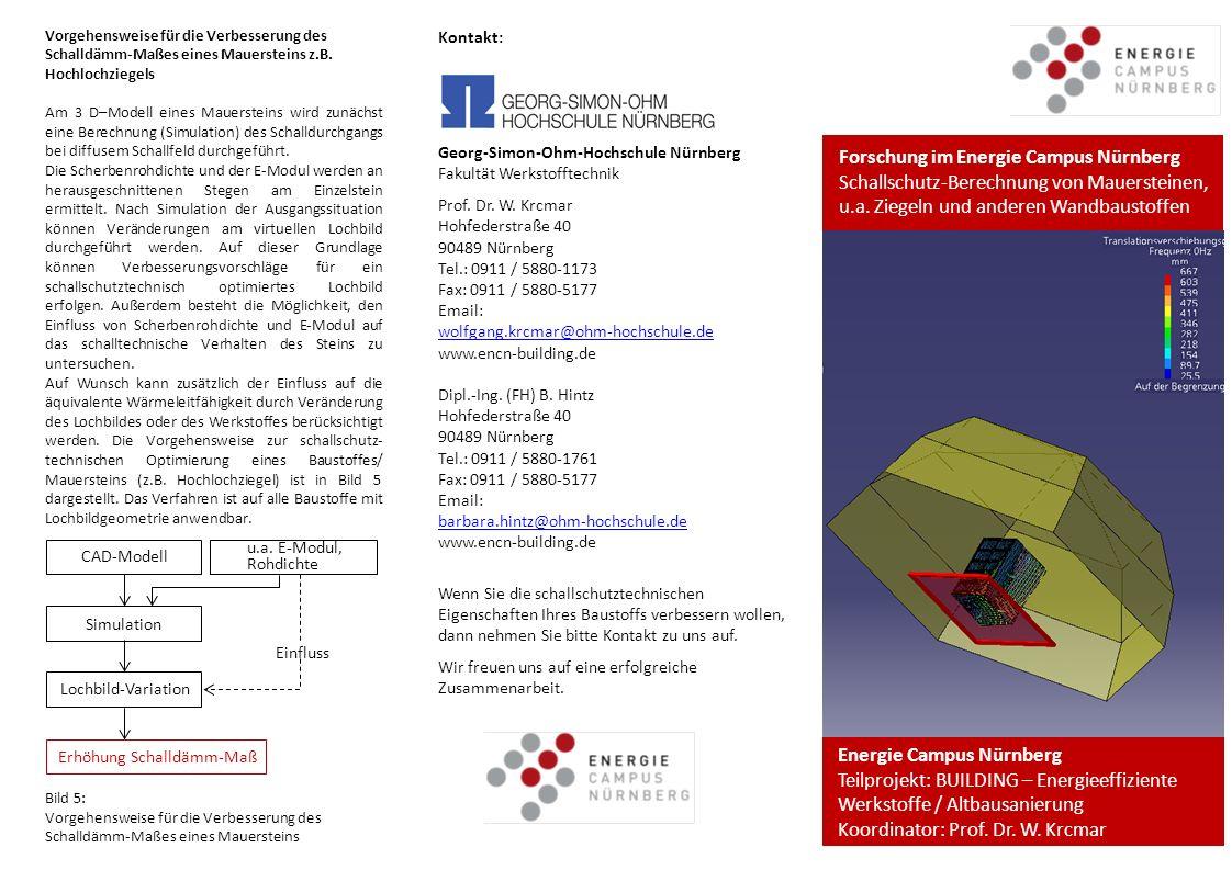 Forschung im Energie Campus Nürnberg