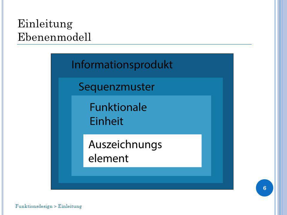 Einleitung Ebenenmodell